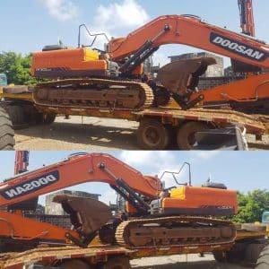 Excavateur Dx300 cla ictransportbtp